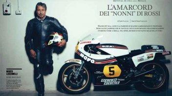 Moto - News: L'amarcord dei nonni di Rossi