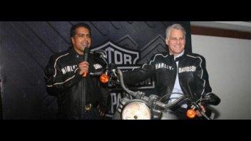 Moto - News: Harley-Davidson sbarca in India