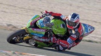 Moto - News: WSS: Kawasaki prova ad Almeria