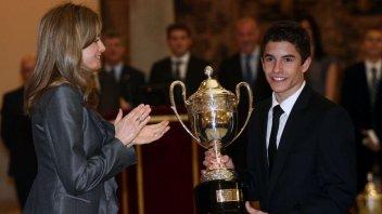 Moto - News: Marquez: il più giovane del reame