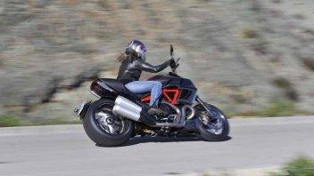 Moto - Test: L'inferno Ducati ha un gran Diavel