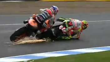 Rossi e Hayden: tutti i perché di Jerez