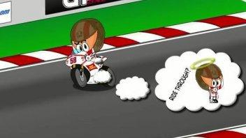 Los Minibikers al GP di Le Mans