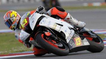 Moto - News: Prima vittoria italiana in STK600