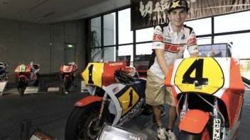 Moto - News: Le Yamaha nel museo della Honda