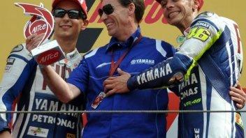 "Moto - News: Yamaha: ""toto piloti"" per Valencia"