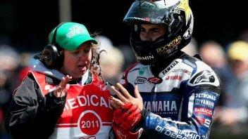 Moto - News: Lorenzo: il post intervento chirurgico