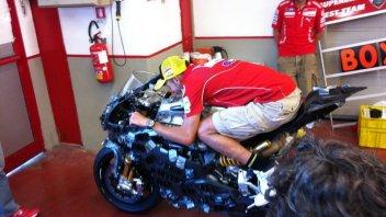 Moto - News: Eicma: Vale Rossi sulla 1199 Panigale