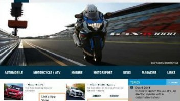 Moto - News: Suzuki sbarca sull'Apple Store