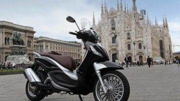 Moto - News: Il Gruppo Piaggio libera le ZTL