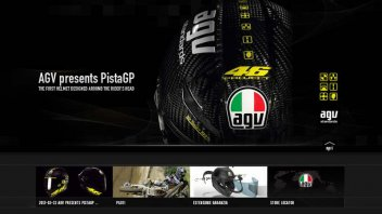 Moto - News: Per il 65° compleanno nuovo sito AGV