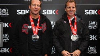 Moto - News: SBK: Premiati Hodgson e Crafar