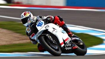 Moto - News: WSS: Tre Honda davanti. Roccoli 8°