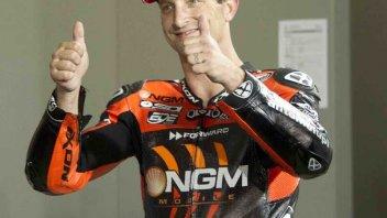 Moto - News: Colin Edwards in pista a Montmelo