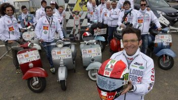 Moto - News: Dalla romagna a Londra per Simoncelli