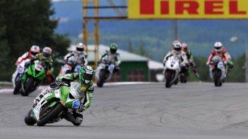 Moto - News: WSS: Gara interrotta, vince Foret