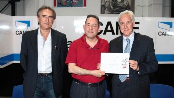 Moto - News: Il Parlamento Europeo premia Ioda