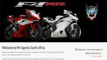 Moto - News: MV Agusta si espande in Sud Africa