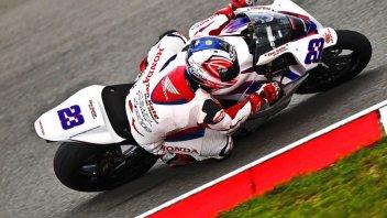 Moto - News: WSS: Riscossa Honda. Parkes 1°