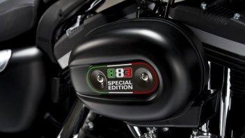 Moto - News: Harley celebra l'Italia con la 883