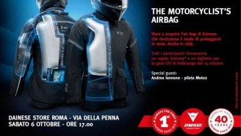 Moto - News: D-Air street: l'Air Bag per moto è realtà