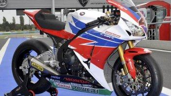 Moto - News: SBK: Honda con nuovi colori