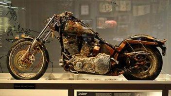 Moto - News: Esposta in museo la Harley sopravvissuta allo tsunami