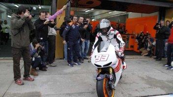 MotoGP: MotoGP, Marquez: primi giri sulla Honda