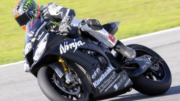 Moto - News: SBK: La Kawasaki riparte con i test