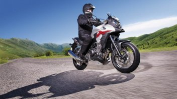 Moto - News: Honda CB500: un motore, tre filosofie