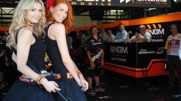 Moto - News: Il team Forward cerca 'ombrelline'