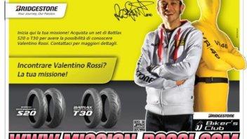 Moto - News: Con Bridgestone incontri Rossi a Misano