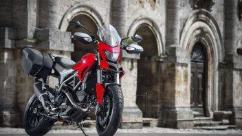 Moto - News: Ducati Hyperstrada, turismo a due facce
