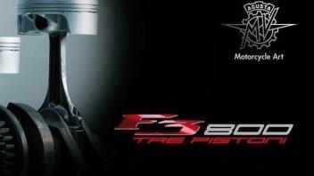 Moto - News: La MV Agusta ha pronta una F3 da 800 cc?