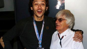Moto - News: Rossi: in auto solo a fine carriera