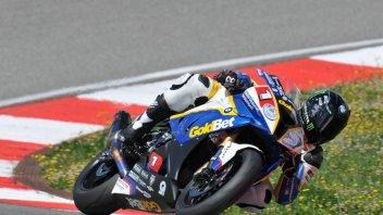 Moto - News: STK: 3 piloti in 2/10. Barrier 1°