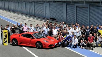 Moto - News: Motogp e Formula 1 in pista insieme