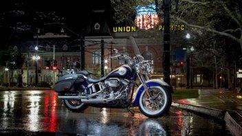 Moto - News: Harley-Davidson: nuova gamma 2014
