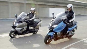 Moto - News: In pista a Vairano con gli scooter BMW