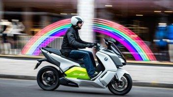 Moto - Scooter: BMW, arriva lo scooter elettrico