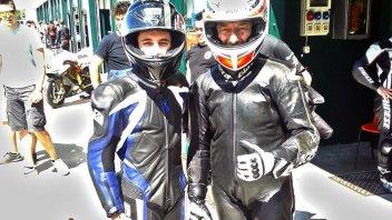 Moto - News: Volevo fare il pilota: a Misano con Lucchinelli