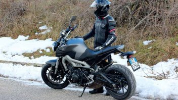 Moto - Test: Yamaha MT-09: il lato oscuro ci ha rapito