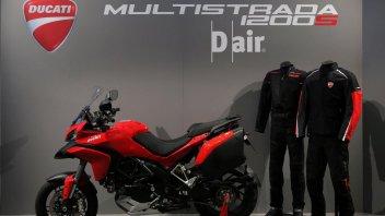 Moto - News: Ducati e Dainese commercializzano l'air bag