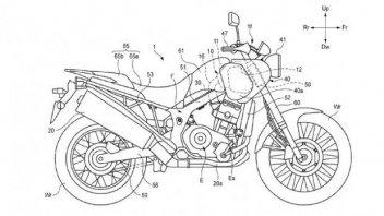 Moto - News: Honda registra il brevetto di una Scrambler?