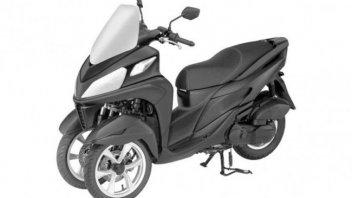Moto - Scooter: Yamaha: nuovo design per il Tricity