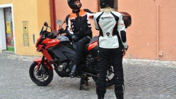 Moto - News: Kawasaki Versys 2015: spunta una foto spia
