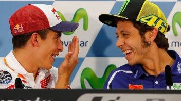 Rossi: la mia sfida al Ranch con Marquez
