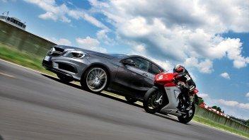 Moto - News: Mercedes-MV Agusta: il matrimonio s'ha da fare