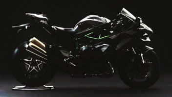 Moto - News: Le prime immagini della Ninja H2 street legal