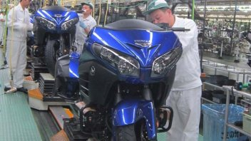 Moto - News: E' una Gold Wing la 300milionesima Honda